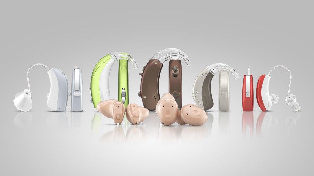 Разные слуховые аппараты